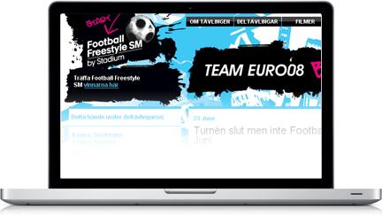 Footballfreestyle SM by Stadium